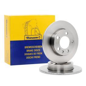 1J0615601C für VW, AUDI, SKODA, SEAT, SMART, Bremsscheibe Barum (BAR09123) Online-Shop