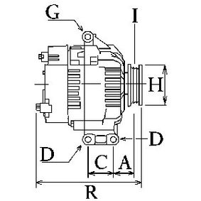 A0131549002 für MERCEDES-BENZ, Generator HC-Cargo (114666) Online-Shop