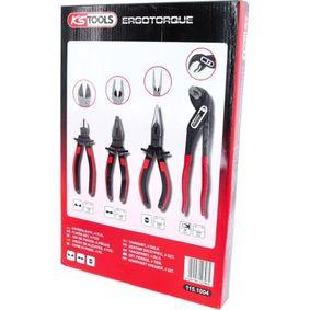 KS TOOLS Zangen-Set, Art. Nr.: 115.1004