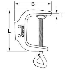 KS TOOLS Karosseriezange 115.2072 Online Shop