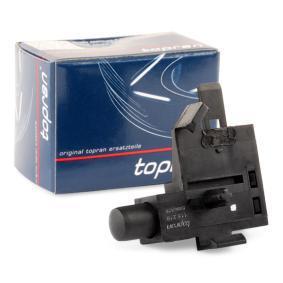 TOPRAN Включвател(датчик), контролна светлина за ръчна спирачка 116 218
