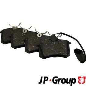 JP GROUP Bremsbelagsatz, Scheibenbremse 6Q0698451 für VW, AUDI, SKODA, SEAT, HONDA bestellen