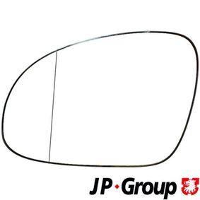 Стъкло на огледало, външно огледало 1189304570 JP GROUP