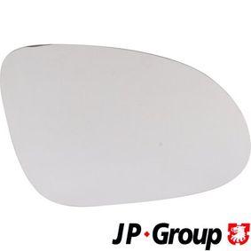 Стъкло на огледало, външно огледало 1189304580 JP GROUP