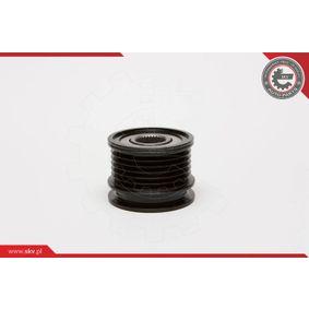 ESEN SKV 11SKV001 Generatorfreilauf OEM - 045903119A AUDI, PORSCHE, SEAT, SKODA, VW, VAG, RUVILLE, HUTCHINSON, METELLI, OPTIMAL, CORTECO, BRINK, LEO DE GROOT, LUCAS, ZF, IJS GROUP, GFQ - GF Quality günstig