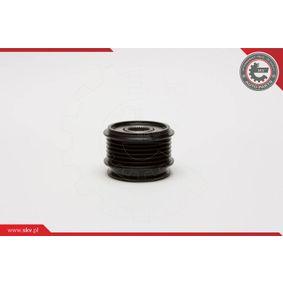 ESEN SKV 11SKV007 Generatorfreilauf OEM - 045903119A AUDI, PORSCHE, SEAT, SKODA, VW, VAG, RUVILLE, HUTCHINSON, METELLI, OPTIMAL, CORTECO, BRINK, LEO DE GROOT, LUCAS, ZF, IJS GROUP, GFQ - GF Quality günstig