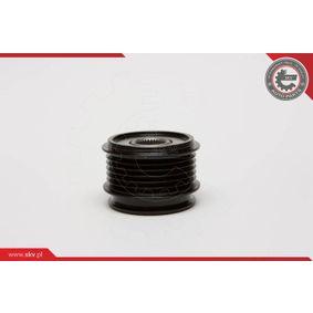 ESEN SKV 11SKV009 Generatorfreilauf OEM - 045903119A AUDI, PORSCHE, SEAT, SKODA, VW, VAG, RUVILLE, HUTCHINSON, METELLI, OPTIMAL, CORTECO, BRINK, LEO DE GROOT, LUCAS, ZF, IJS GROUP, GFQ - GF Quality günstig