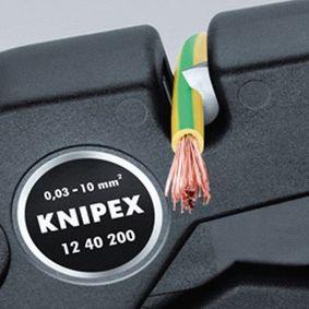 12 40 200 Abisolierzange von KNIPEX Qualitäts Werkzeuge