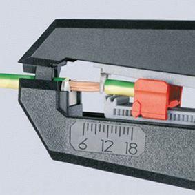 12 62 180 Abisolierzange von KNIPEX Qualitäts Werkzeuge
