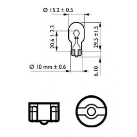 HONDA CIVIC VIII Hatchback (FN, FK) PHILIPS Tolatólámpa izzó 12067CP vesz