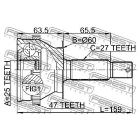 FEBEST Gelenk, Antriebswelle 495013A210 für HYUNDAI, KIA bestellen