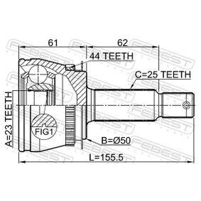 FEBEST Gelenk, Antriebswelle 495002D012 für HYUNDAI, KIA bestellen