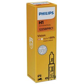 12258PRC1 Glühlampe, Fernscheinwerfer von PHILIPS Qualitäts Ersatzteile