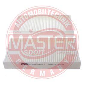Filtro habitáculo 122SK-IF-SET-MS MASTER-SPORT