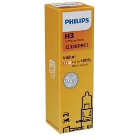 12336PRC1 Крушка с нагреваема жичка, фар за дълги светлини от PHILIPS качествени части