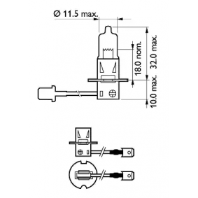 Bulb, spotlight 12336PRC1 online shop