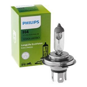 Glühlampe, Fernscheinwerfer PHILIPS Art.No - 12342LLECOC1 OEM: 3713341M1 für kaufen
