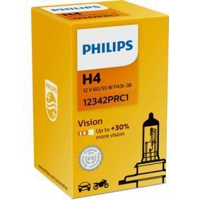 PHILIPS 12342PRC1 Glühlampe, Fernscheinwerfer OEM - 072601012803 MERCEDES-BENZ, EVOBUS, SETRA günstig