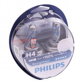 90013538 für OPEL, CHEVROLET, VAUXHALL, Glühlampe, Fernscheinwerfer PHILIPS (12342RVS2) Online-Shop