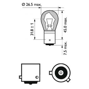 12496SVS2 Glühlampe, Blinkleuchte von PHILIPS Qualitäts Ersatzteile