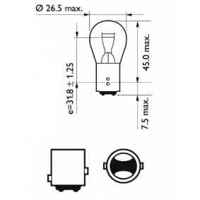 12499CP Bulb, indicator from PHILIPS quality parts