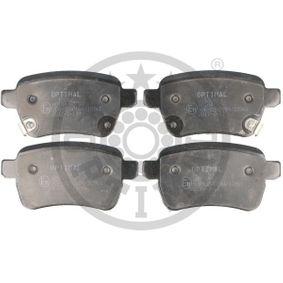 Bremsbelagsatz, Scheibenbremse OPTIMAL Art.No - 12693 OEM: 77366595 für FIAT, ALFA ROMEO, LANCIA, ABARTH kaufen