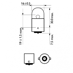 Bulb, indicator 12814B2 online shop