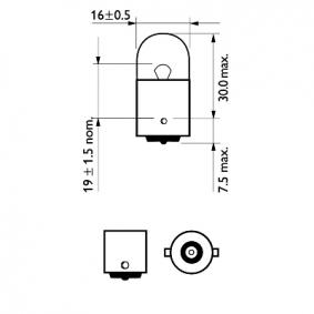 Gloeilamp, knipperlamp 12814B2 online winkel