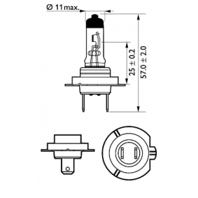PHILIPS Bulb, spotlight 12972PRB1
