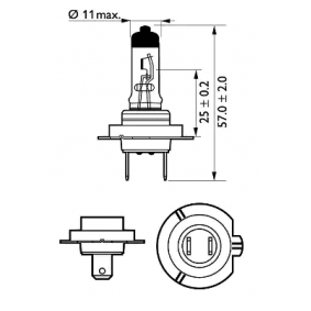 10044613 für , Glühlampe, Fernscheinwerfer PHILIPS (12972PRC2) Online-Shop