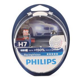 Glühlampe, Fernscheinwerfer PHILIPS Art.No - 12972RVS2 OEM: N400809000007 für MERCEDES-BENZ, SMART kaufen