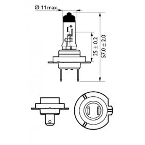 532472 за , Крушка с нагреваема жичка, фар за дълги светлини PHILIPS (12972VPS2) Онлайн магазин
