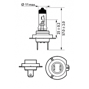 12972VPS2 Bulb, spotlight from PHILIPS quality parts