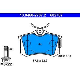 ATE Bremsbelagsatz, Scheibenbremse 6R0698451 für VW, AUDI, FORD, SKODA, SEAT bestellen