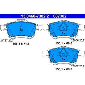 ATE Bremsbelagsatz, Scheibenbremse 77366915 für FIAT, ALFA ROMEO, LANCIA bestellen