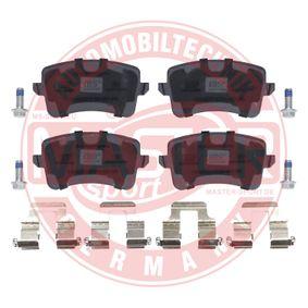 MASTER-SPORT Bremsbelagsatz, Scheibenbremse 8K0698451C für VW, AUDI, SKODA, SEAT bestellen
