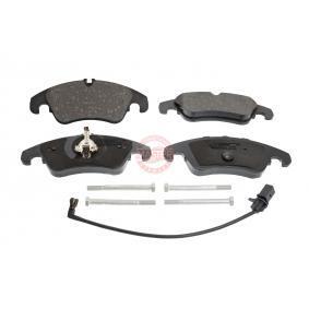 Bremsbelagsatz, Scheibenbremse MASTER-SPORT Art.No - 13046027652N-SET-MS OEM: 8R0698151A für VW, AUDI, SKODA, SEAT, PORSCHE kaufen