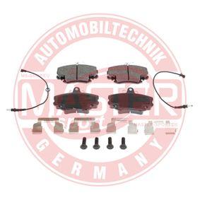 MASTER-SPORT Bremsbelagsatz, Scheibenbremse 7701204833 für RENAULT, PEUGEOT, NISSAN, CHEVROLET, DACIA bestellen