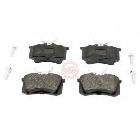 Bremsbelagsatz, Scheibenbremse MASTER-SPORT Art.No - 13046028602N-SET-MS OEM: 8E0698451B für VW, AUDI, FORD, SKODA, SEAT kaufen