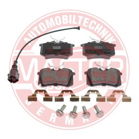 MASTER-SPORT Bremsbelagsatz, Scheibenbremse 6Q0698451 für VW, AUDI, SKODA, SEAT, HONDA bestellen