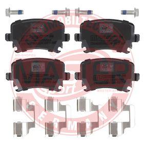 MASTER-SPORT Bremsbelagsatz, Scheibenbremse 1K0698451H für VW, AUDI, SKODA, SEAT, HONDA bestellen