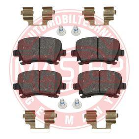MASTER-SPORT Bremsbelagsatz, Scheibenbremse JZW698451M für VW, AUDI, SKODA, SEAT bestellen