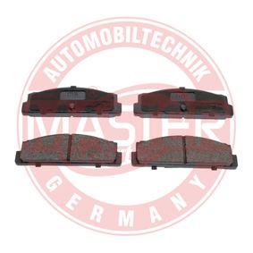 MASTER-SPORT Bremsbelagsatz, Scheibenbremse 1H0698451H für VW, AUDI, PEUGEOT, SKODA, SEAT bestellen
