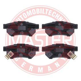MASTER-SPORT Комплект спирачно феродо, дискови спирачки GBP90316AF за HONDA, SKODA, ROVER, MG купете