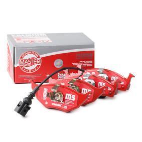Bremsbelagsatz, Scheibenbremse MASTER-SPORT Art.No - 13046071782-SET-MS OEM: 8Z0698151A für VW, AUDI, SKODA, SEAT kaufen