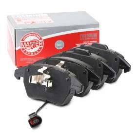 Kit de plaquettes de frein, frein à disque MASTER-SPORT Art.No - 13046071842N-SET-MS OEM: 3C0698151C pour PEUGEOT, CITROЁN, VOLKSWAGEN, AUDI, SEAT récuperer