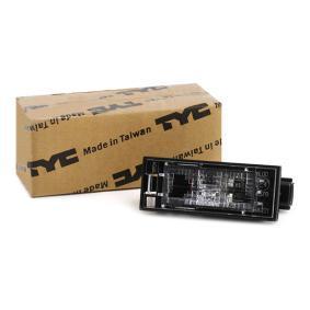 MEGANE III Coupe (DZ0/1_) TYC Kennzeichenleuchte 15-0221-00-2