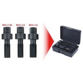 Комплект инструмент за навиване на резба 150.1355 KS TOOLS