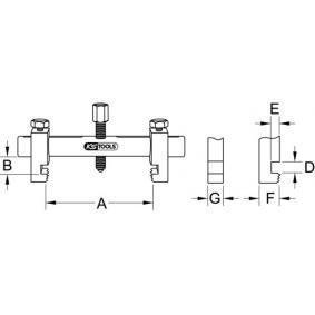 150.3170 Abzieher, Riemenscheibe von KS TOOLS Qualitäts Werkzeuge