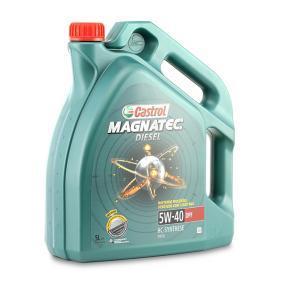 SKODA Motorový olej od CASTROL 1502BA OEM kvality